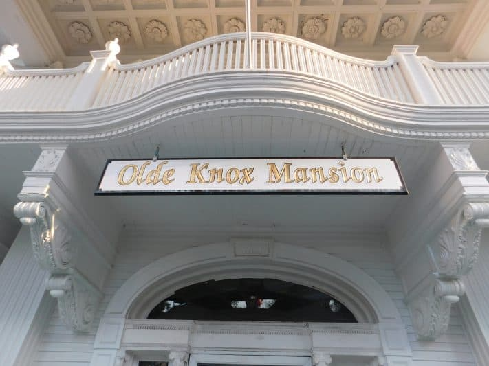 The Olde Knox Mansion in Johnstown, New York.