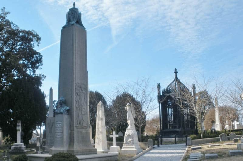 Hollywood Cemetery contains the bones of dozens of Union soldiers, in Richmond, VA.