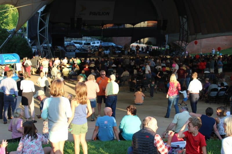 Is Charlottesville Virginia safe? Here at this Sprint Pavilion concert, things look ok. Kurt Jacobson photos.