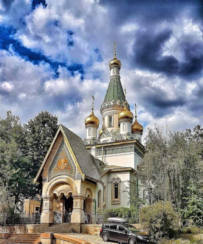Russian Church Saint Nicola in Sofia.