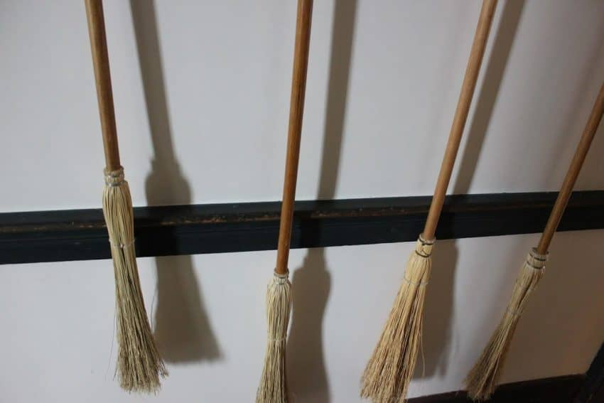 Handmade Shaker brooms were an important item used by the Kentucky Shakers.