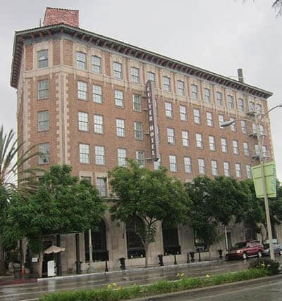 Many film stars have stayed in the Historic Culver Hotel in Culver City.
