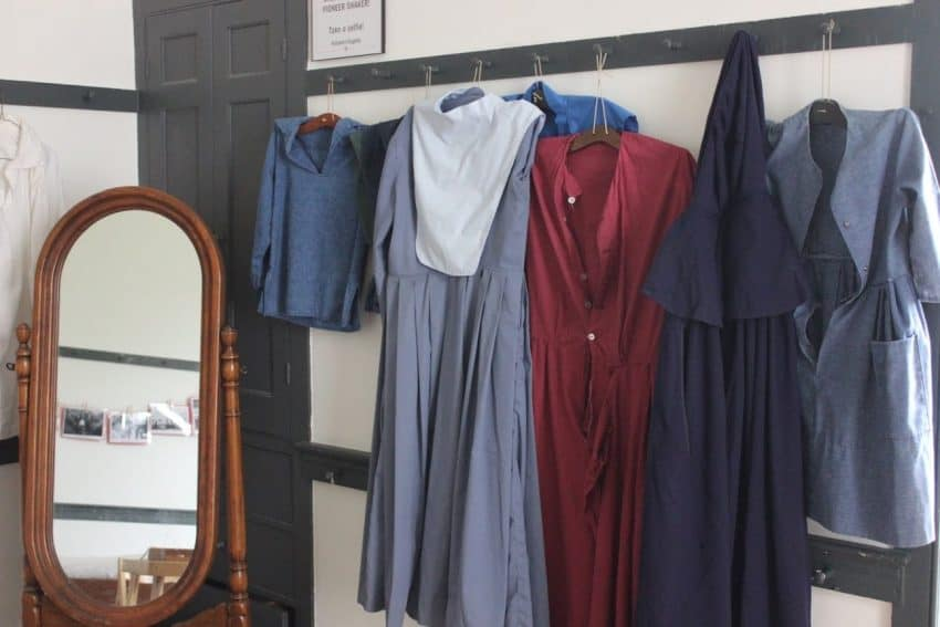 Shaker dresses: Hmmm ...Shall I wear the maroon or the navy today?