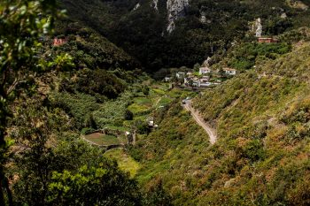 A small village where our hike started from.
