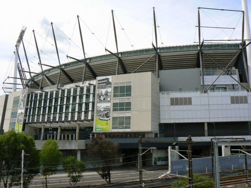 The Melbourne Cricket Grounds, home of footy.