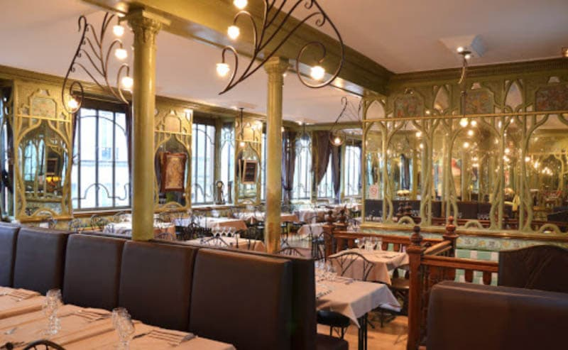 Bouillon Racine, another of the classic Paris spots for boiled beef and other classic dishes.