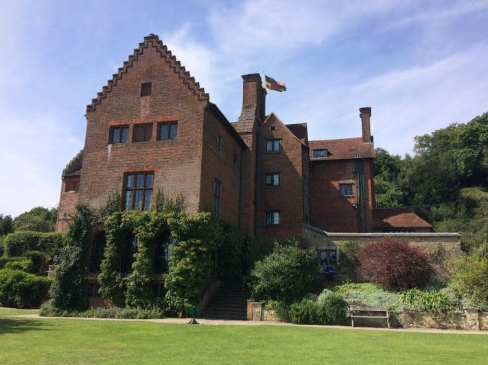 Chartwell, Churchill's house that he eventually could no longer afford to own, in Kent.