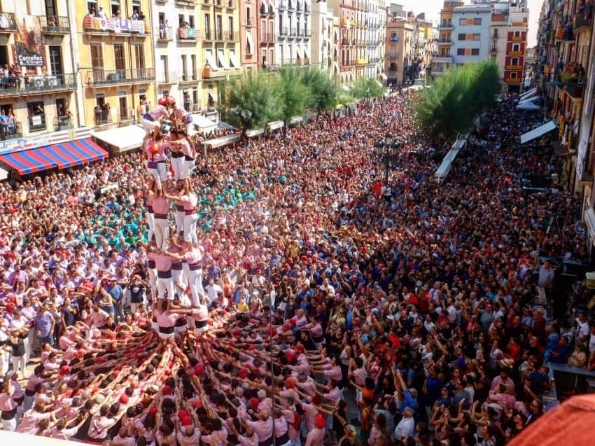 Castels, also known as human towers, are a staple of Catalan tradition. Balancing on the backs of one another, group members rely on eachother to get the smallest member to the top.