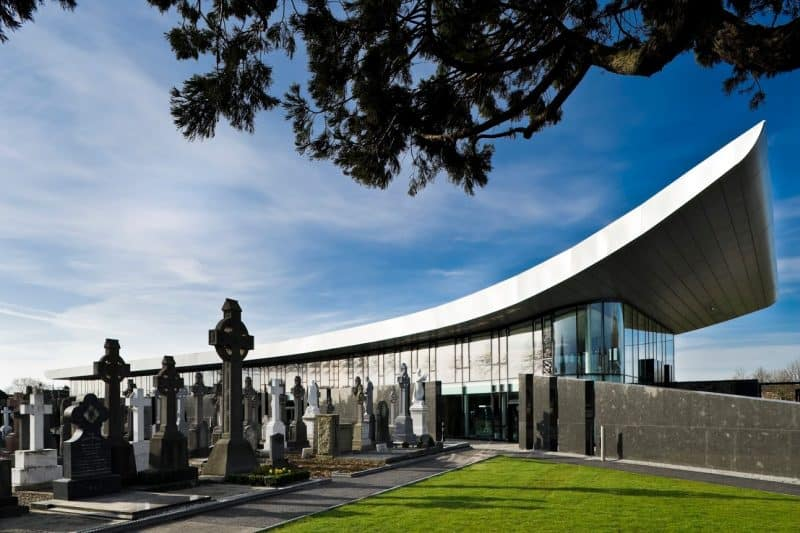 Glasnevin National Heritage Project & Glasnevin Trust Museum Dublin: Wejchert+Partners Architects.