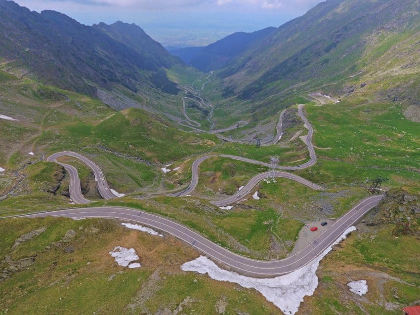 Top Gear declared the Transfagarason in Romania the best road in the world. Patti Morrow photos.