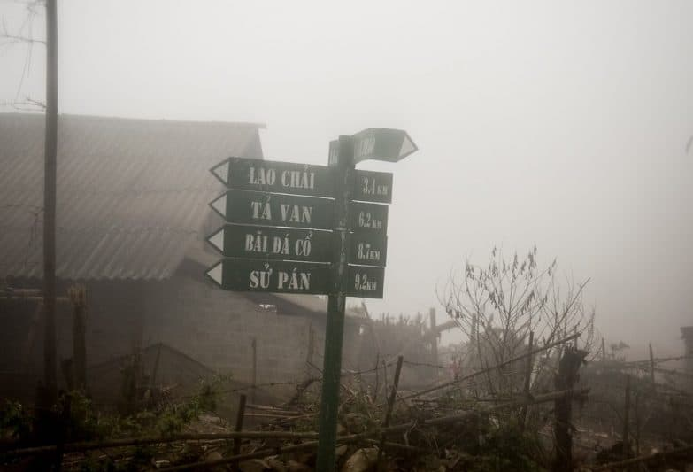 High in the mountains in northwest Vietnam, the weather is often socked in with mist and rain, creating a dampness that blows through one's bones.