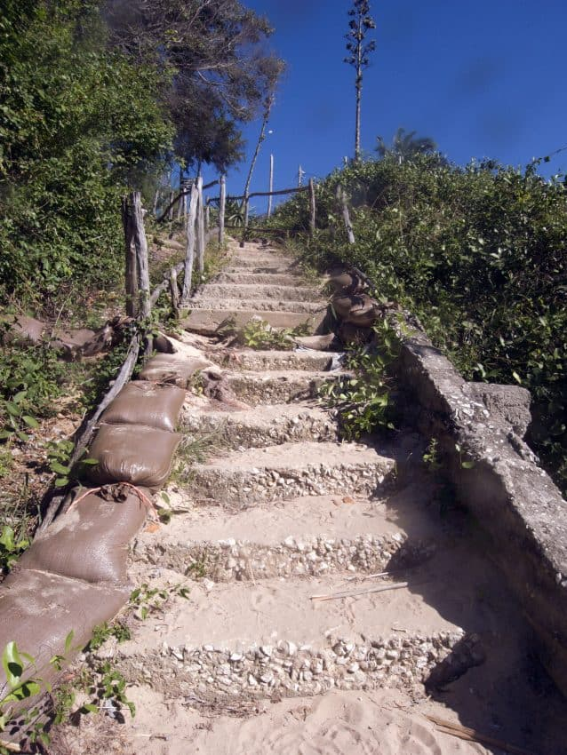 """The Stairs of Death"" were a real challenge!"