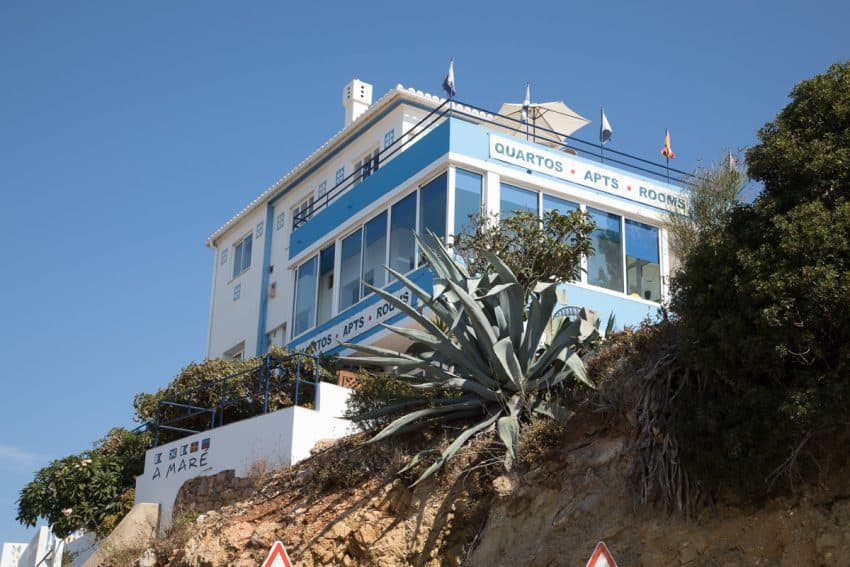 Where to stay: In Salema, A Mare offers inexpensive rooms overlooking the beach.