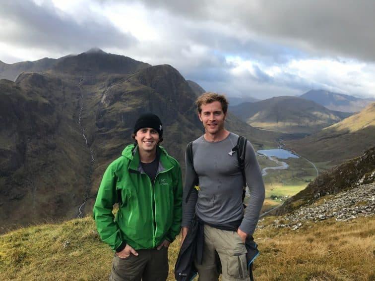 Scotland's Aonach Eagach Ridge