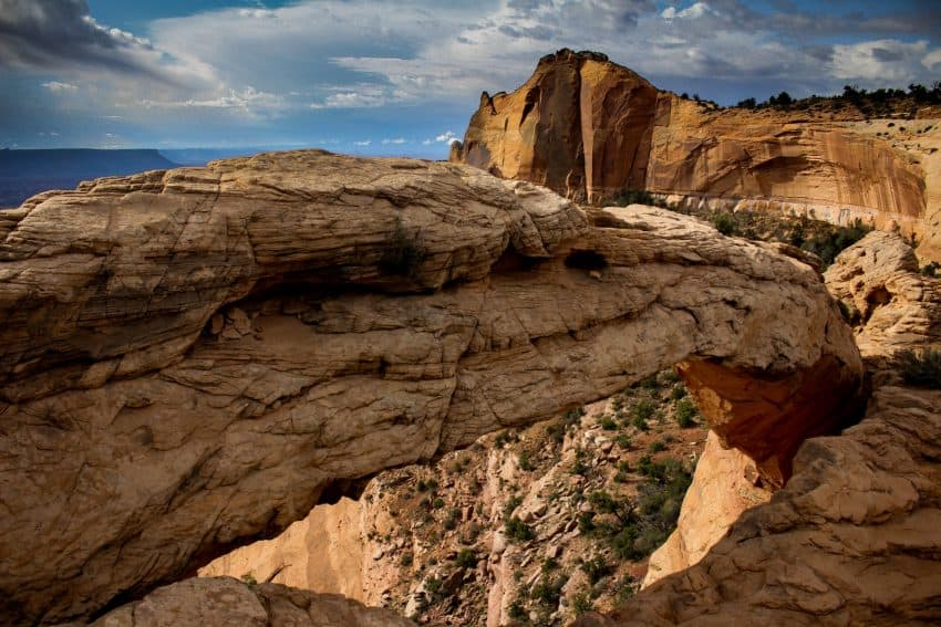 Moab, Canyonlands - Marble Arch.