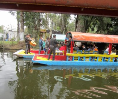 Floating Mariachi Band - Xochimilco, Mexico