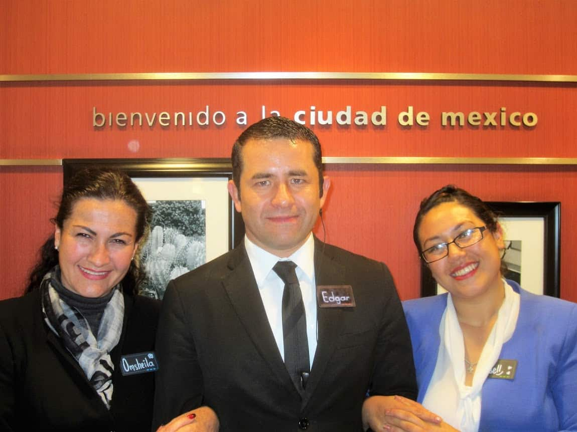 Hampton Inn & Suites By Hilton, Mexico City superb staff - OmSheila, Edgar and Gissell