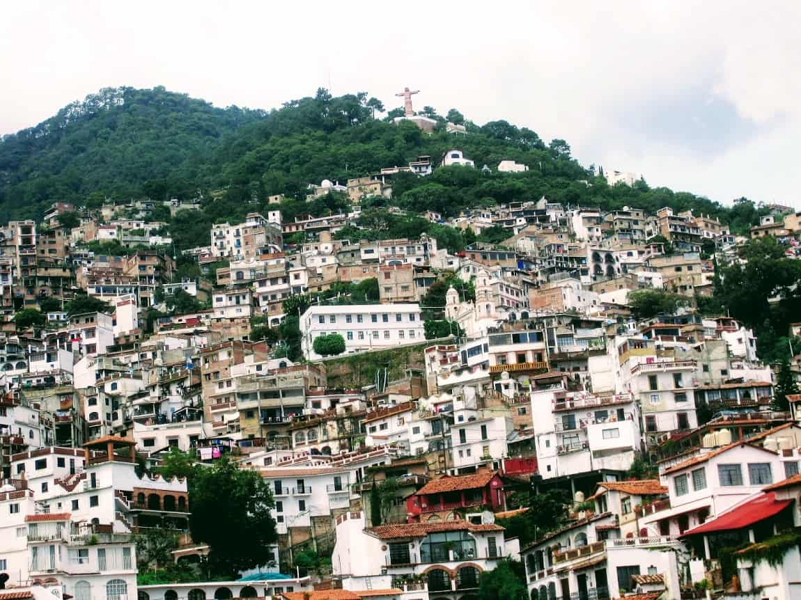 'High-rise' dwellings in Taxco, Mexico