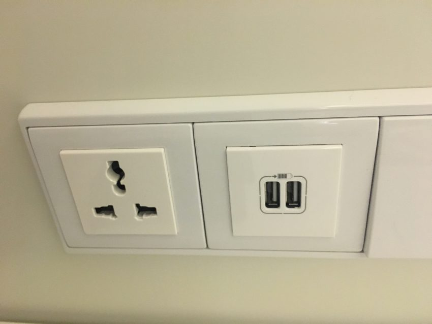 Why can't all hotels use these convenient universal plugs for their guests? Kudos to Tivoli Carvoeiro Resort for these!