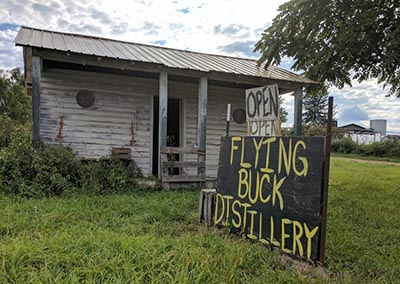 Flying Buck Distillery, Hampshire County West Virginia
