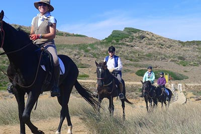 Menorca on Horseback