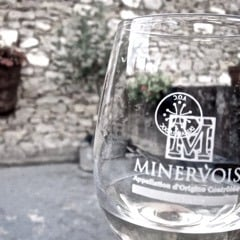 Minervois is a famous appellation of Languedoc, France.