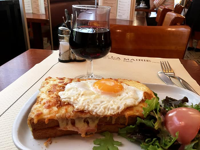 Croque Madame at Mairie