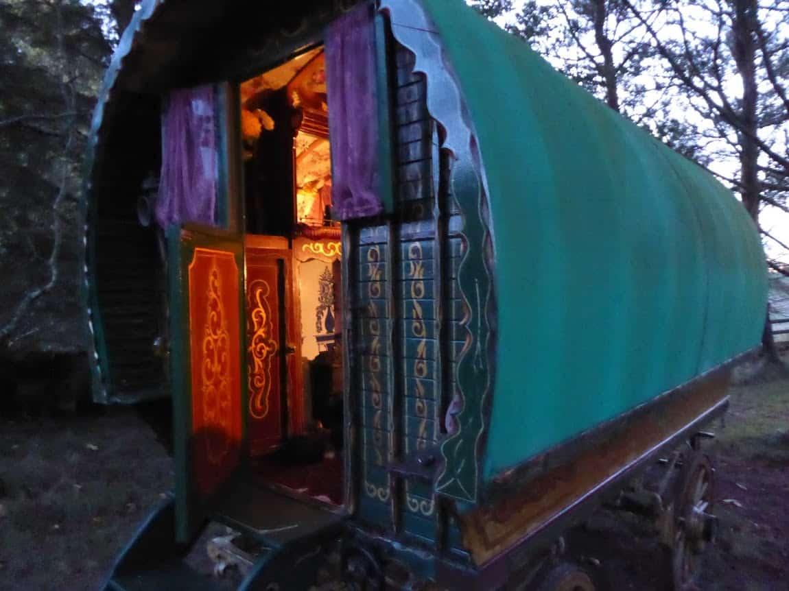1930s Bowtop Romany Caravan