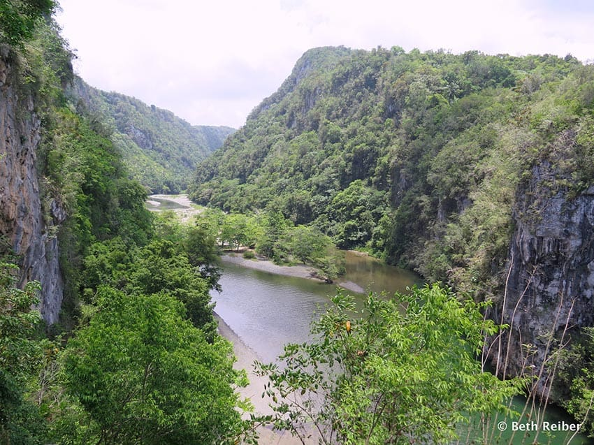 The Yumuri River, one of many in Baracoa
