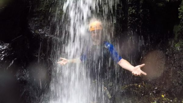Getting dirty & clean in the rainforests of Puerto Rico