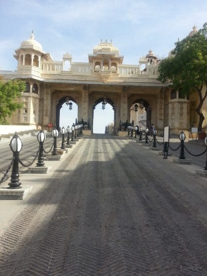 City Palace, Udaipur, India.