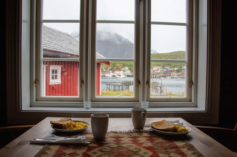 Cozy view in Lofoten. Foap-julieweiss photo.