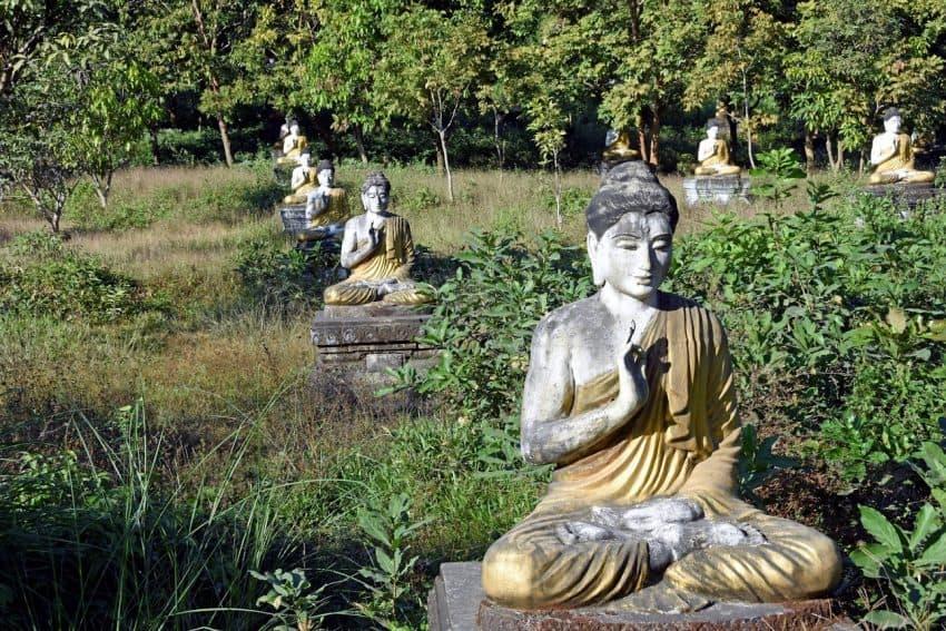 Lumbini Gardens.