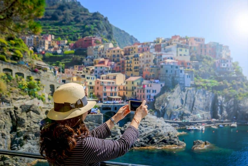 In Manarola, like in all of the five villages, the photo ops are amazing!