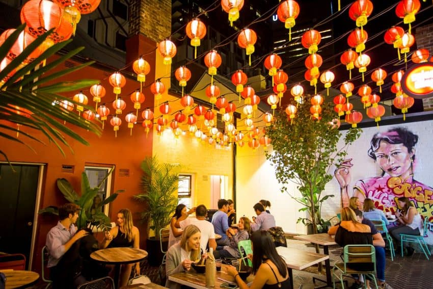 Mingle with friendly Sydneysiders in the hip inner-city neighborhood of Chippendale