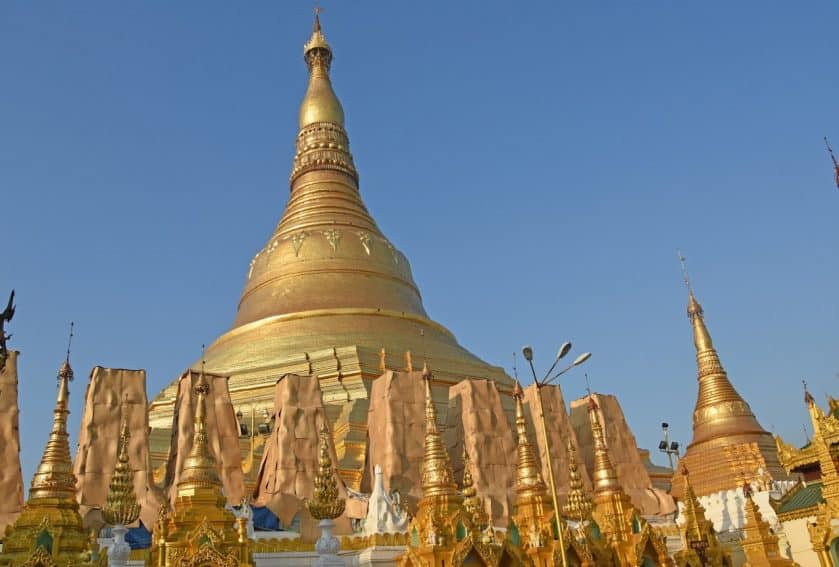 No visit is complete without seeing the fantastic Schwedagon Pagoda.