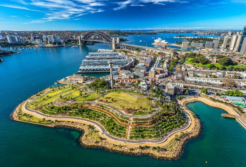 Sydney's latest vibrant waterfront development is Barangaroo.