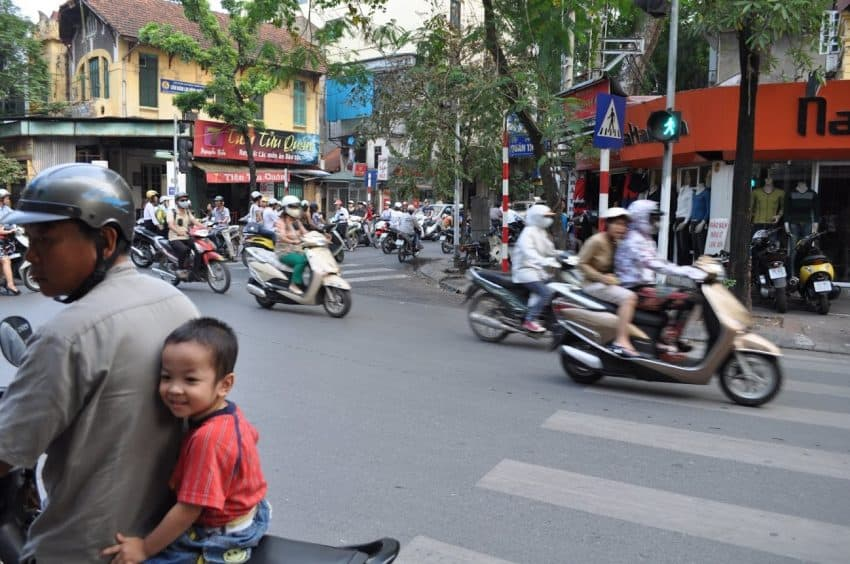 Hanoi: A Late Night Arrival into Chaos