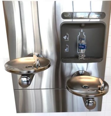 water bottle filler