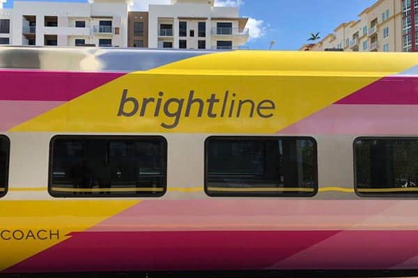 Brightline Coach Railcar