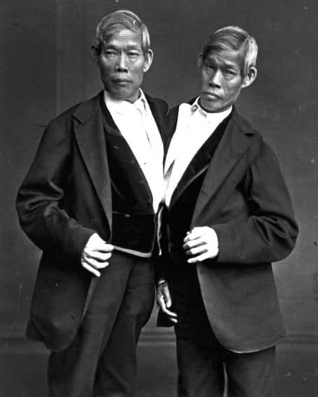 Chang and Eng Bunker were the original 'Siamese Twins.'