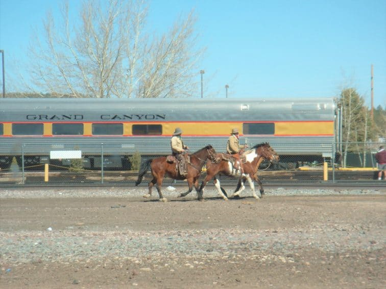 Grand Canyon Railway is another lovely way to see the canyon and its surroundings.