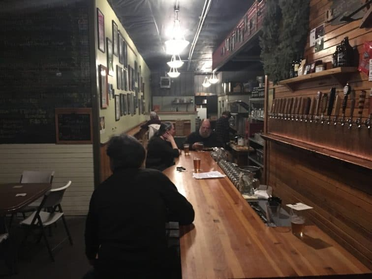 At the Waltz Brewing taproom, you can sample their brews plus many other Oregon beers on tap.