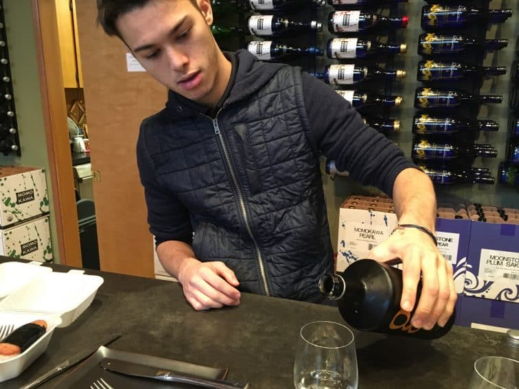 At Sake One, in Forest Grove, Oregon, is the first American-owned craft sake brewer in the world.