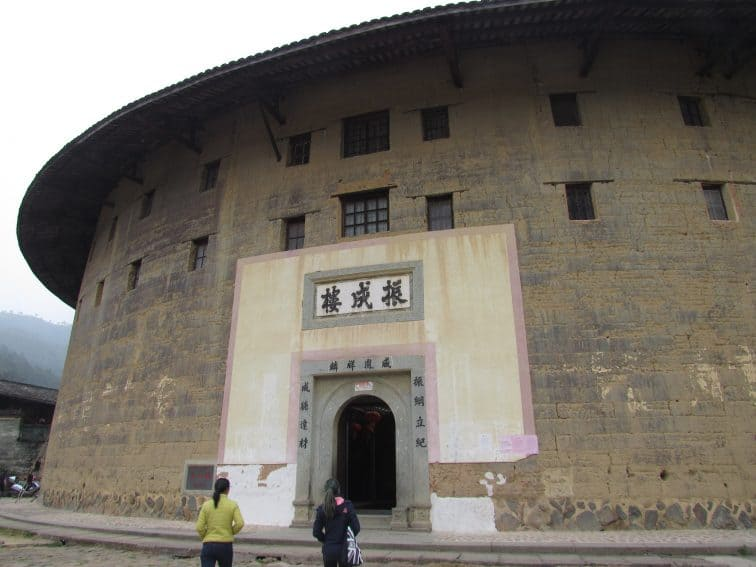 The mighty Zhengcheng Lou, known as the prince of the tulou.