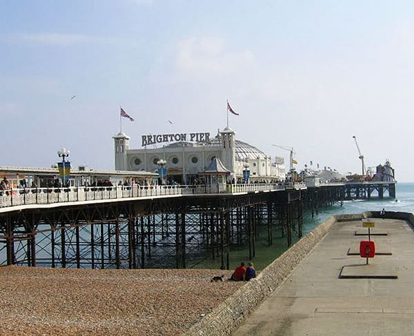 Brighton Beach England Photo Gallery