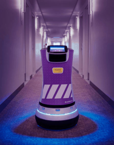 Robots Show Guests to their Rooms in LA and Boston 3