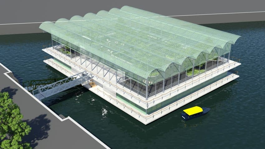 Rotterdam: Floating Urban Farm Is Now Open 3