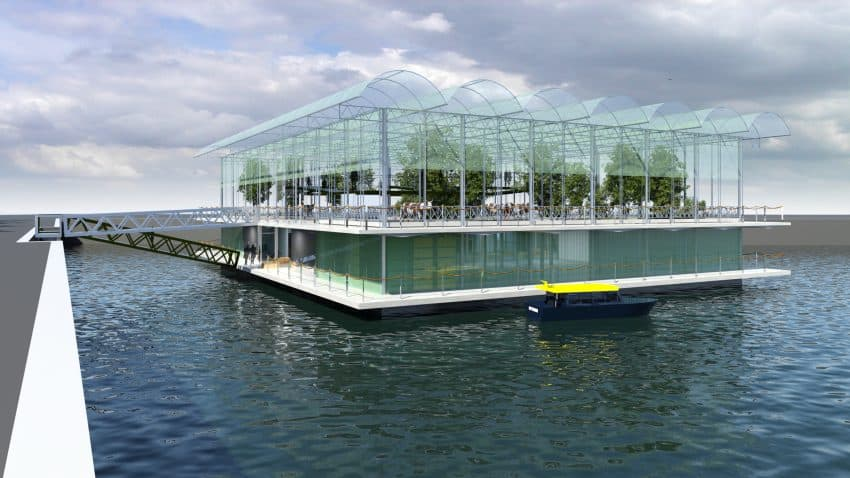 Rotterdam: Floating Urban Farm Is Now Open 2