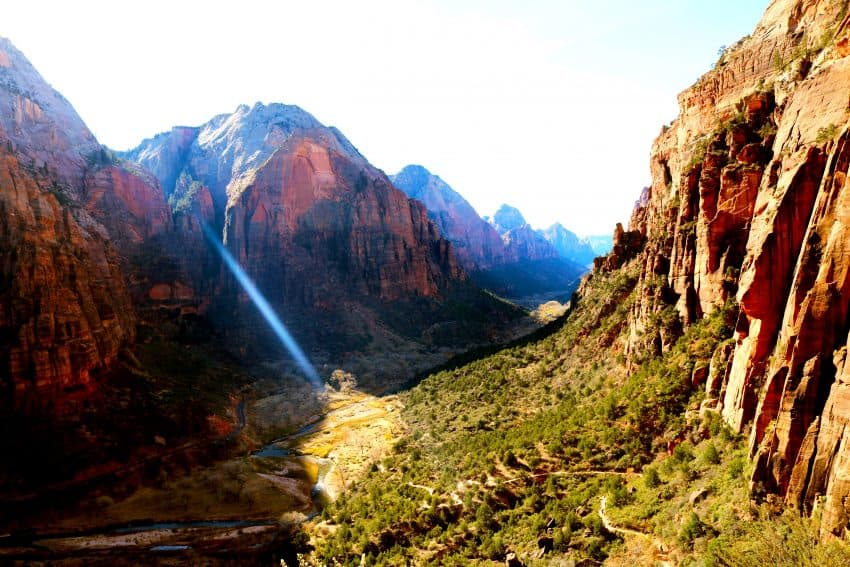 Another view of Zion National Park from Angel's Landing. Laura Ferguson photos.